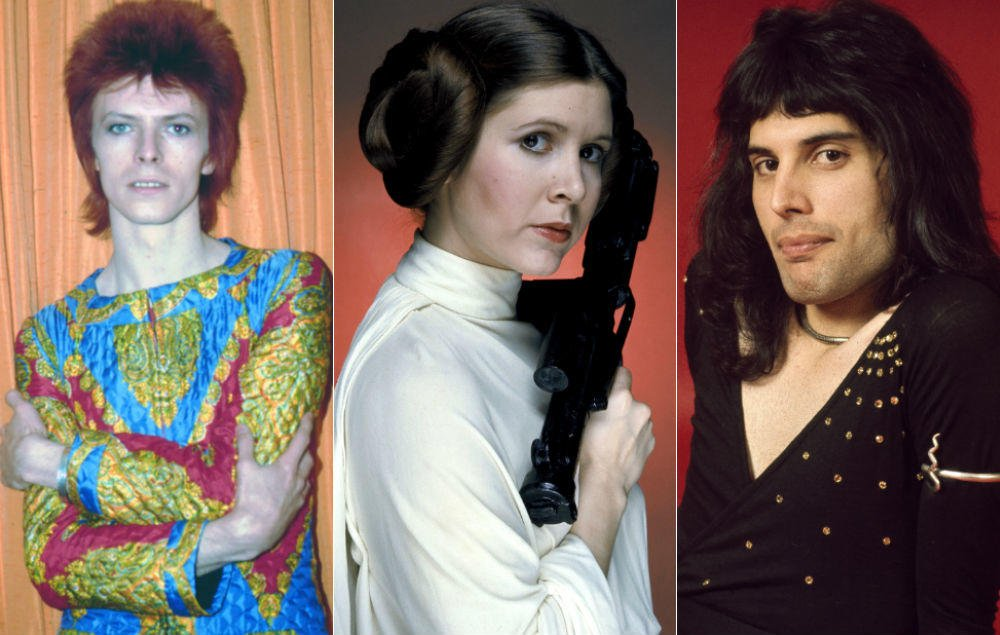 Carrie Fisher 'had affairs with Freddie Mercury and David Bowie' as a teenager https://t.co/FyJ4wUKuu7 https://t.co/Oa5KH6VbvQ