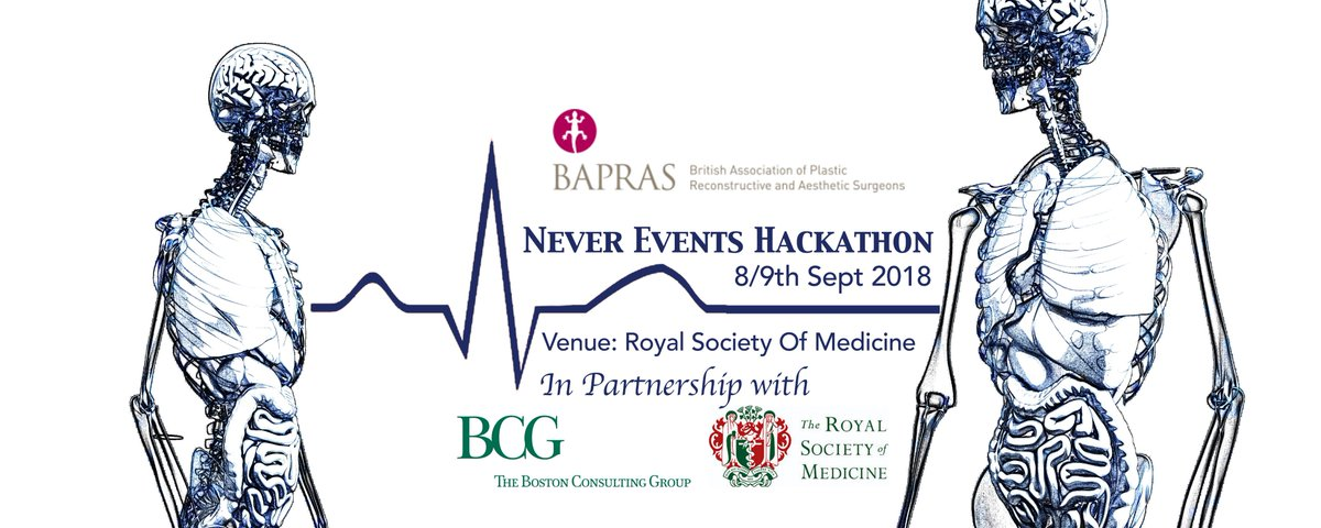 In association with @RoySocMed &amp; @BCG we are looking for innovative solutions to stop #NeverEvents (serious adverse clinical incidents). Register and join us 8/9th September with your ideas  http:// bit.ly/2thiosV  &nbsp;   #NHS70<br>http://pic.twitter.com/miD22tgo0p