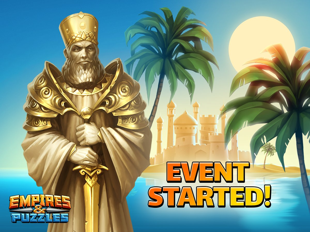 Empires and puzzles events