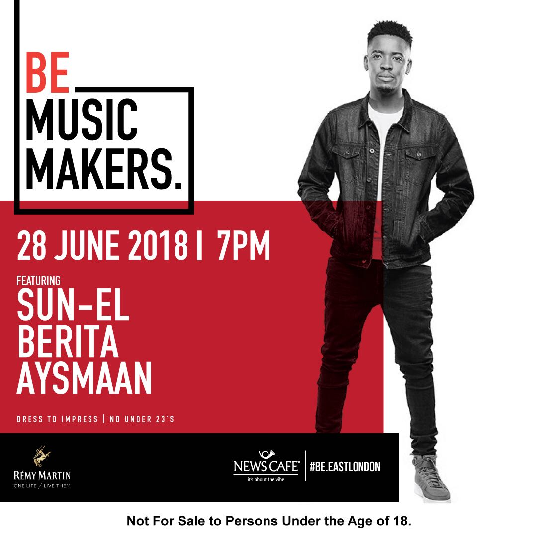 Sun-EL Musician is in the building  28 June 2018 - 7pm  It&#39;s a Heels and Tie Event  Dress to impress!!  Ladies get your best heels out to play!  Gents bow ties, straight ties, black ties dress to impress   #BeMusicMakes #BeShakers @SunELMusician  #Akanamali #Sun-EL<br>http://pic.twitter.com/HHgRTwmNDz