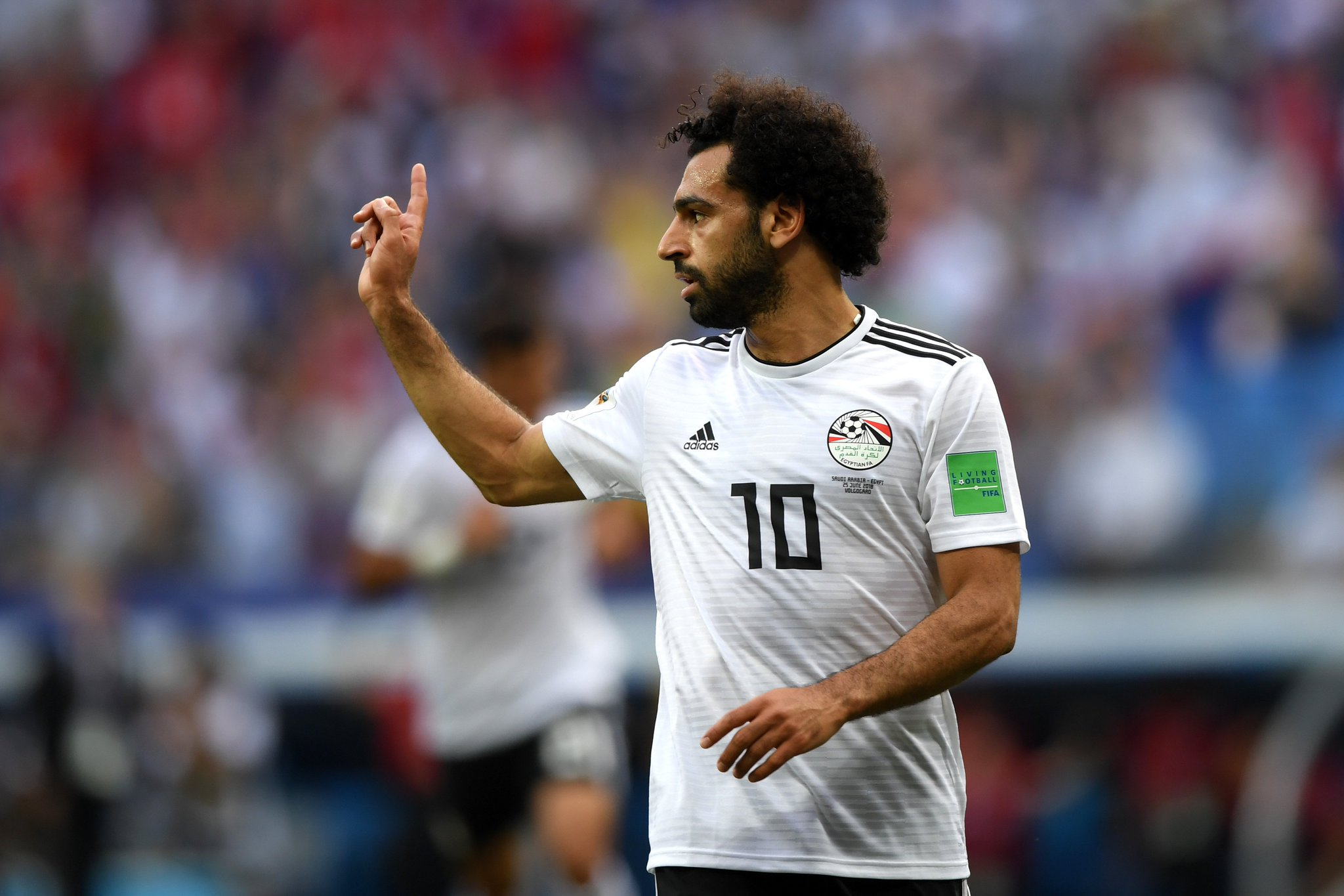 ���� Mohamed Salah has now scored 23 goals for club & country in 2018 ������ https://t.co/i4AmQB2exT