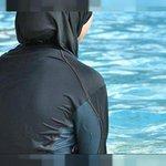Burkinis im Schwimmunterricht Twitter Photo