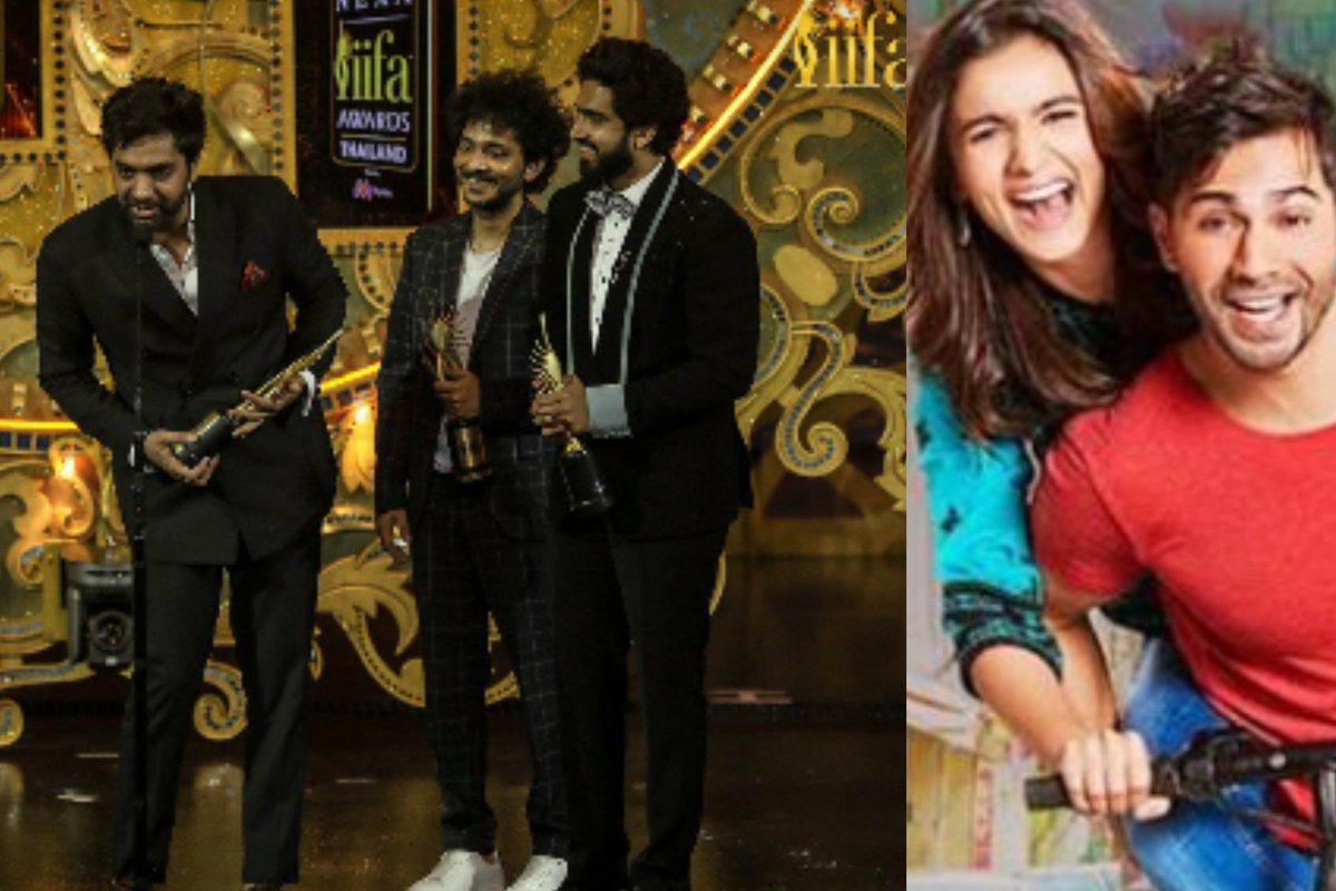 &#39;Badrinath Ki Dulhania&#39; Album Of 2017 Set Records With Young Musicians Like @tanishkbagchi, @AmaalMallik &amp; @AkhilNasha, Now Wins Big At IIFA Awards 2018. @azeem2112 @TSeries @DharmaMovies  Read More:   http://www. filmygalaxy.com/2018/06/badrin ath-ki-dulhania-album-of-2017-set.html?m=1 &nbsp; … <br>http://pic.twitter.com/ZibqBeRGz6