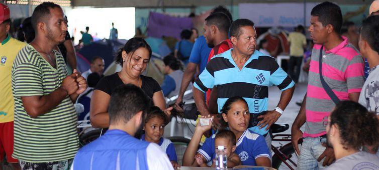 Eurodeputados virão ao Brasil avaliar situação de venezuelanos https://t.co/VhRv10krd2 📷Reynesson Damasceno/Acnur ©
