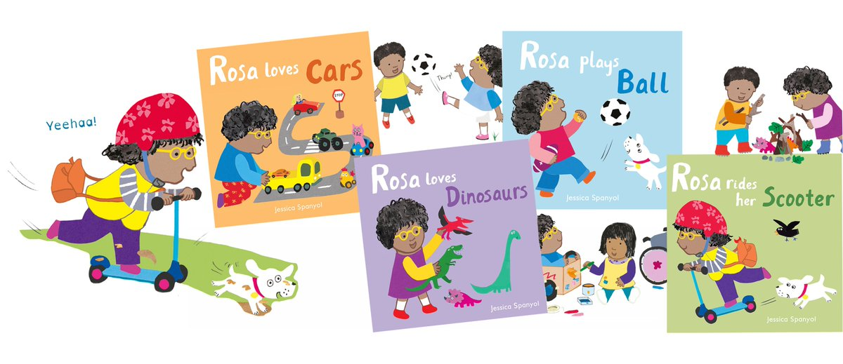 Super exciting start to the week! Happy #BookBirthday Rosa! An important NEW board books series by the creator of #Clivebooks @jessicaspanyol #Rosabooks celebrate inclusivity, promote gender equality and embrace the uniqueness of every child <br>http://pic.twitter.com/FPU0dYtqkf