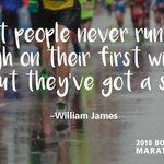 Image for the Tweet beginning: Endure. #MondayMotivation #running #marathon #TogetherForward