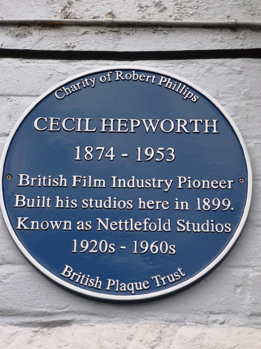 Image result for cecil hepworth blue plaque