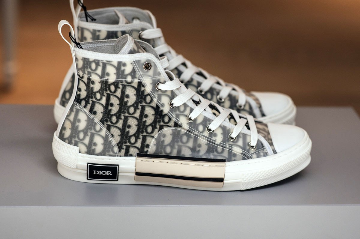 1c6f822be2f Kim Jones: Take a closer look at Dior's SS19 sneakers designed by ...
