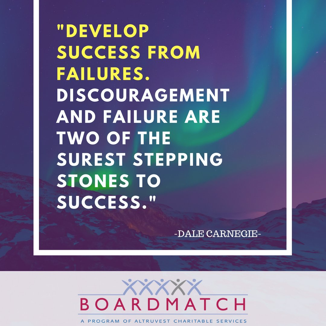 Have a great week! . . #altruvest #BoardMatch #leadership #improvement #charityCanada #charity #volunteer #leaders #communities #charities #leadershipskills #quotes #Monday #MondayMotivation