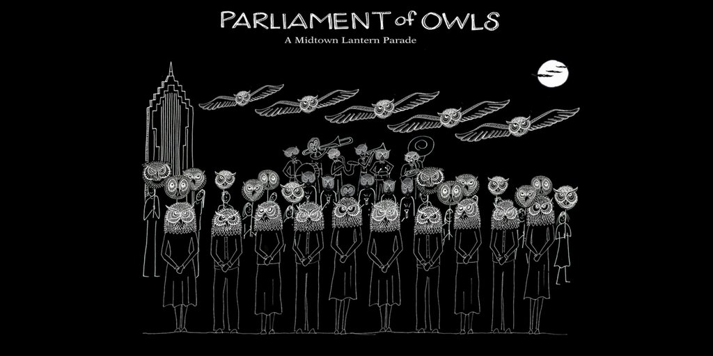 ICYMI: If you love the @AtlantaBeltLine Lantern Parade, you don&#39;t want to miss Chantelle Rytter&#39;s Parliament of Owls: A @MidtownATL Lantern Parade happening Friday, August 3rd! Details-&gt;  http:// bit.ly/parliamentofow ls &nbsp; …  #MidtownATL <br>http://pic.twitter.com/cty2vDGf3v