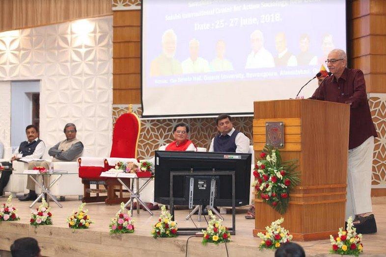 ગુજરાત યુનિવર્સિટીમાં યોજાયો સોશ્યોલોજી ઓફ સેનીટેશન સેમિનાર