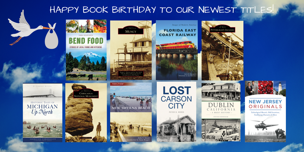 Happy Book Birthday to our new titles! #localhistory #bookbirthday <br>http://pic.twitter.com/8PyMp0g4lE