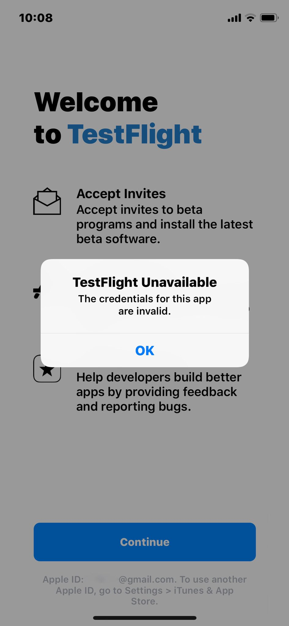Andrwio montana on twitter im having problems with testflight the andrwio montana on twitter im having problems with testflight the same has gone off for a week and now it does not log anymore httpst1mjcfriqiz stopboris Choice Image