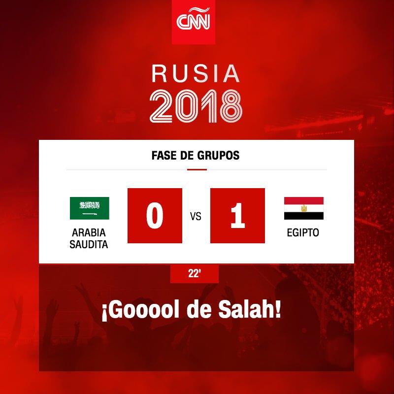 ¡Salah anota para Egipto al minuto 22! https://t.co/tXR1nXJpjC https://t.co/S3TAQARka0