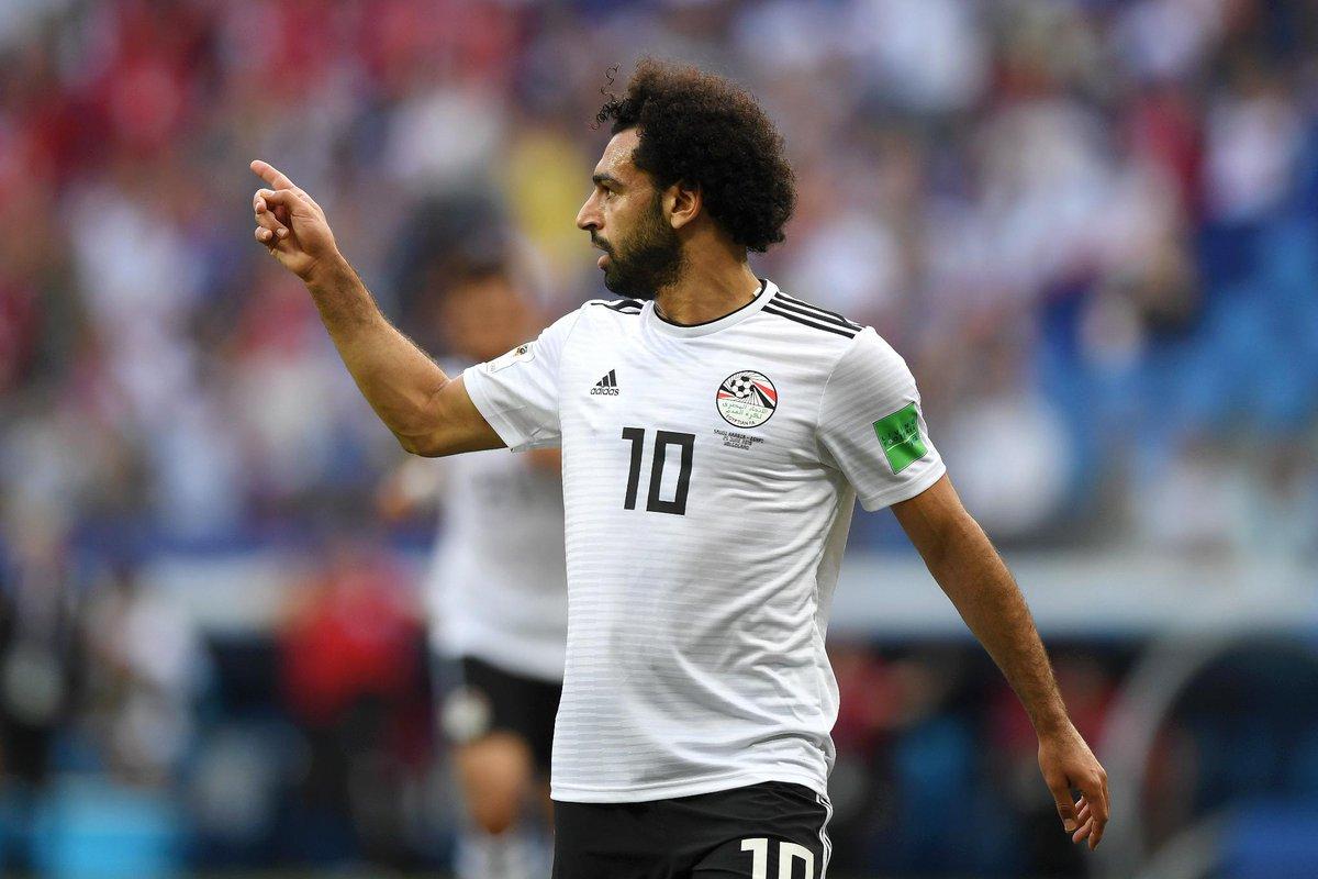 هدف مصر الاول في شباك السعودية