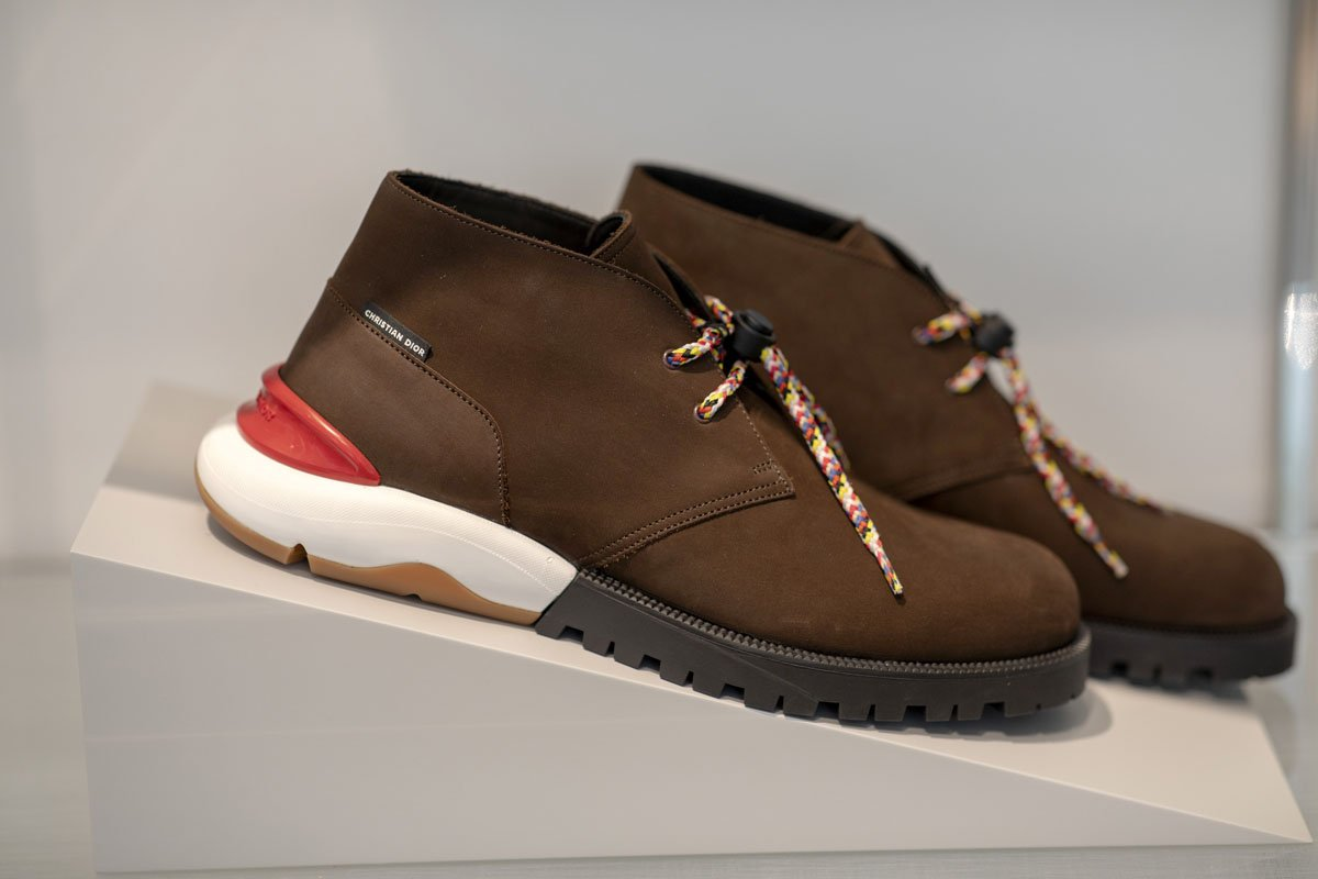 519d7eccb70 Kim Jones: Here's a closer look at Dior's SS19 sneakers designed by ...