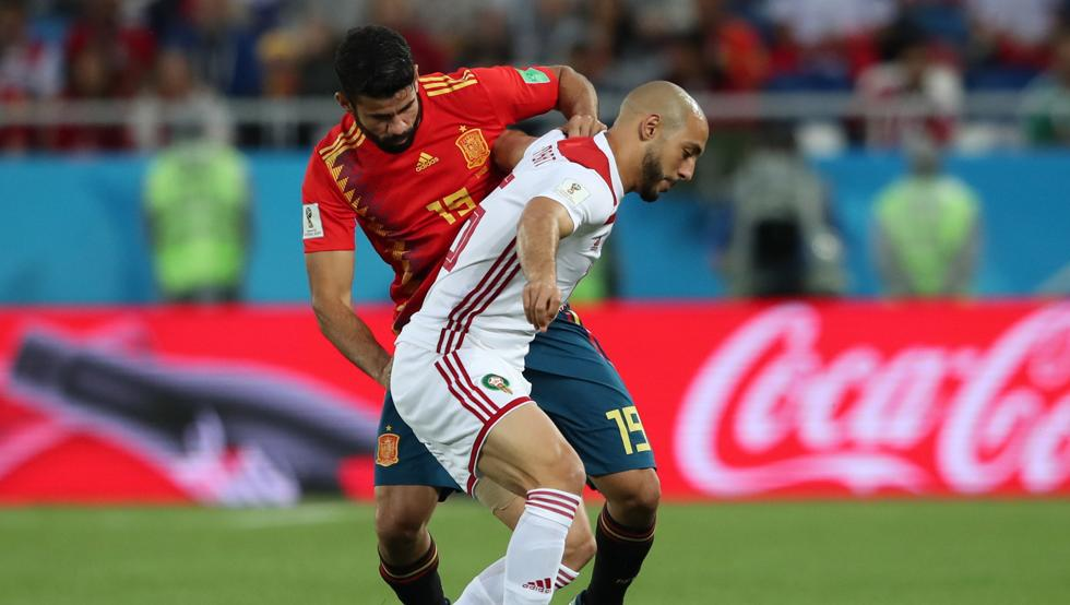 فرصة ضائعة من منتخب المغرب أمام منتخب اسبانيا