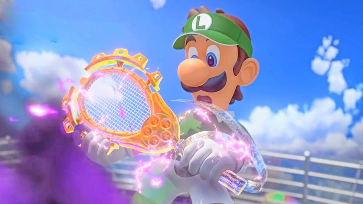 Polygon On Twitter Mario Tennis Aces Gets Real Dark Real