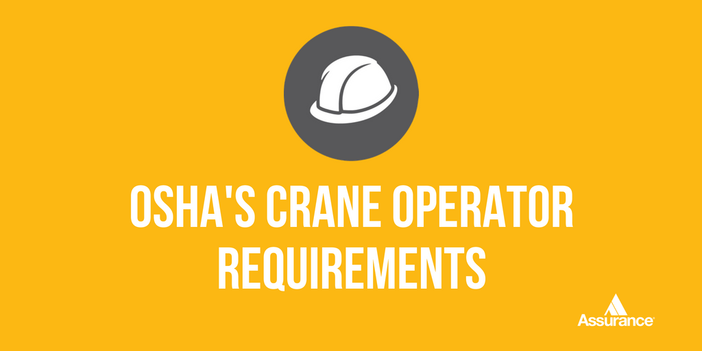 Assurance On Twitter By November 10 Crane Operators Must Comply