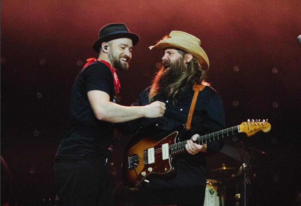 Chris Stapleton Might Collab with Justin Timberlake Again https://t.co/L0F0FNzthr https://t.co/IRcBcW6rK9