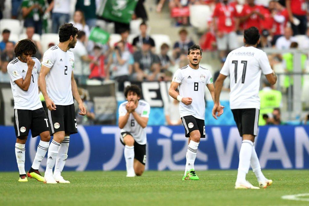 أهداف مباراة مصر والسعودية