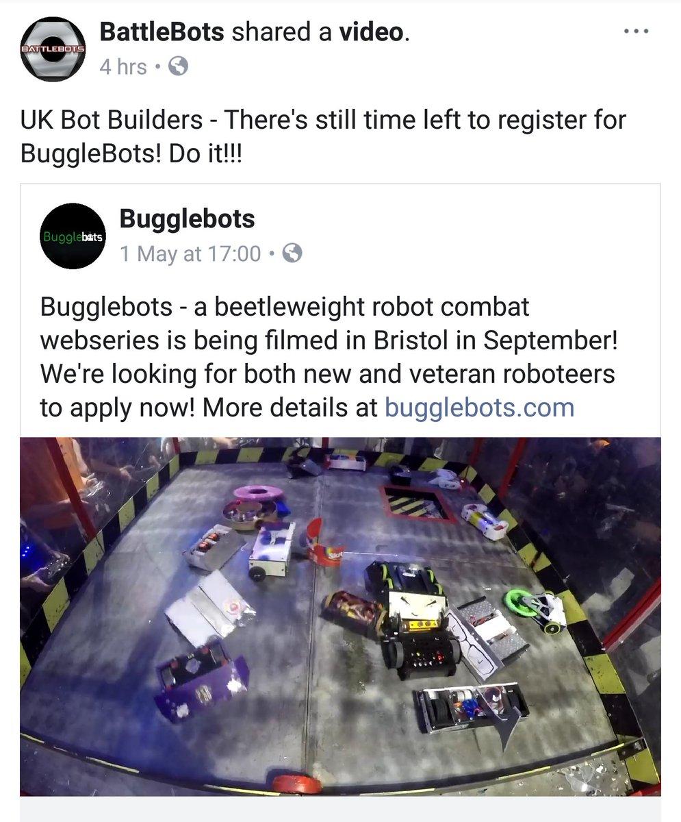 Bugglebots on Twitter: