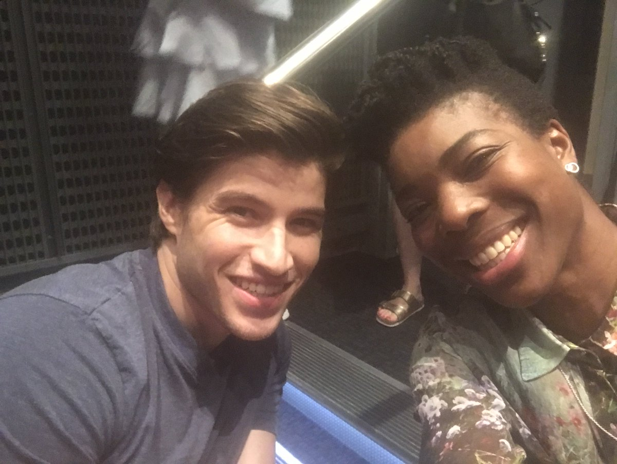 We're hanging with @thecameroncuffe & @annogbomo chatting #Krypton, coming to @E4Tweets this Summer.