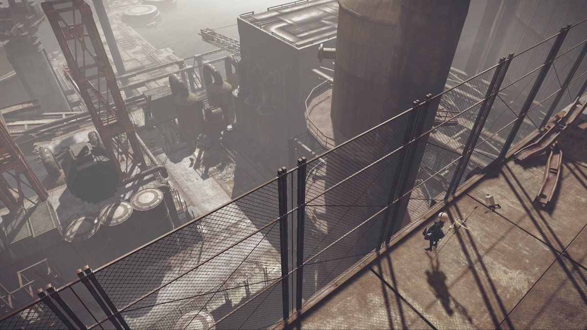 Why did they send a combat unit to a recon job? Xbox One owners can find out when NieR:Automata BECOME AS GODS Edition releases tomorrow! <br>http://pic.twitter.com/sOClWFKA5a