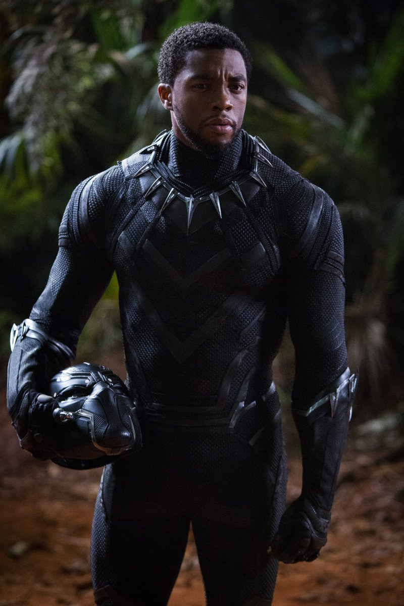 """Congratulations to @chadwickboseman on winning the @BET Award for """"Best Actor"""" as T'Challa in #BlackPanther. #WakandaForever  #BETAwards <br>http://pic.twitter.com/odmqTGGqyf"""