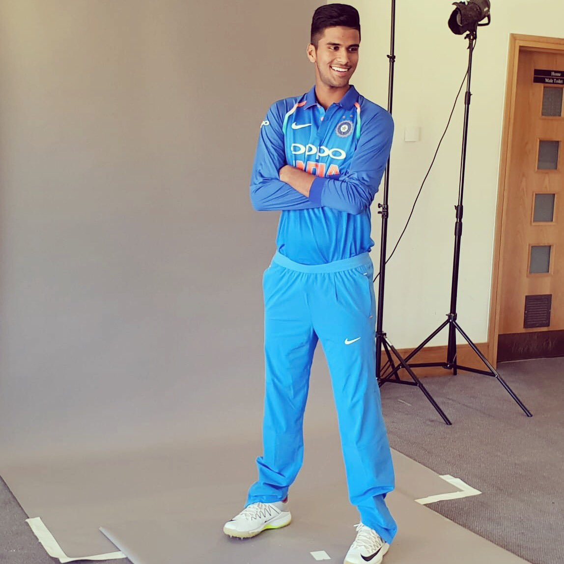 Blessed to wear my heart on my sleeve ! #TeamIndia
