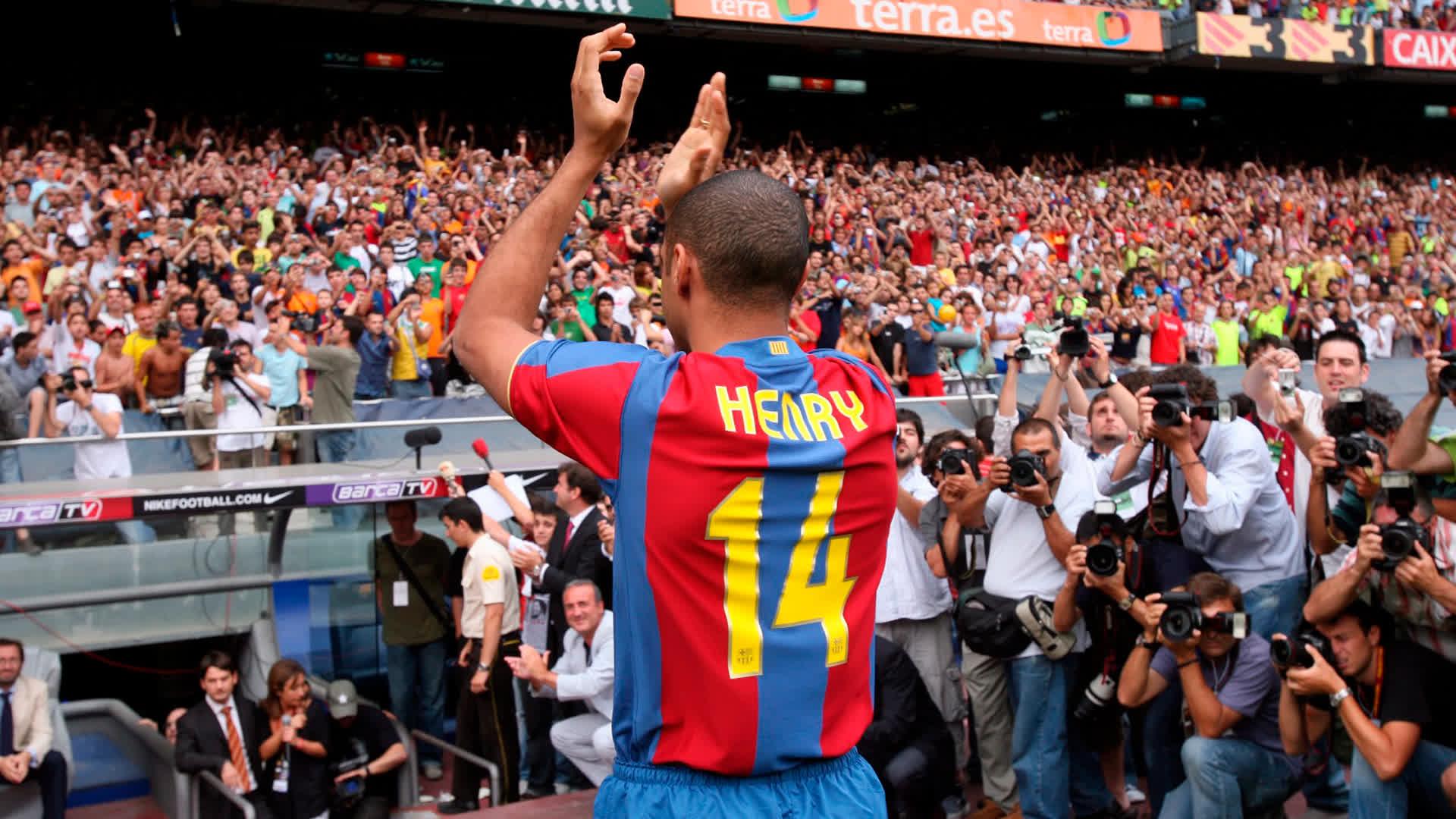 �� 2007 @ThierryHenry begins life at Barça ���� C'est magnifique! �� https://t.co/I8hfz0s2VA