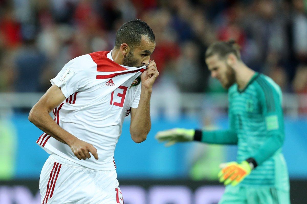 هدف المغرب الأول أمام اسبانيا