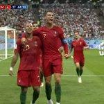 Gol de Portugal Twitter Photo