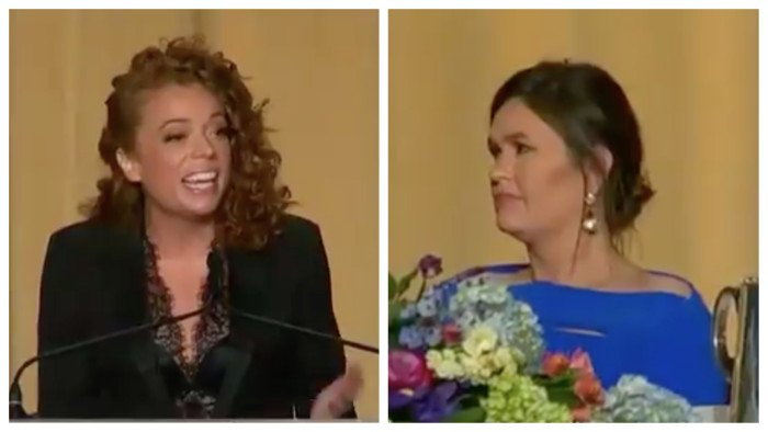 Trump sees Sarah Sanders as weak because she didn't walk out during Michelle Wolf comedy set: report http://hill.cm/UntxBhW