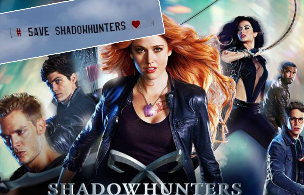 Ummm, 'Shadowhunters' fans just bought a PLANE to save the show https://t.co/fi4V2yJHSY