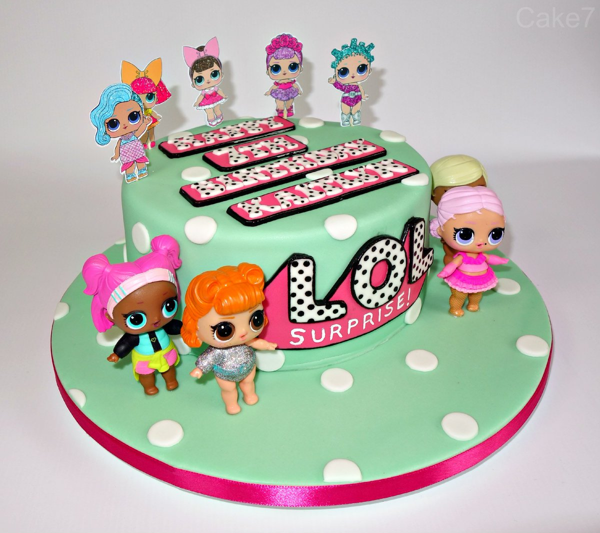 Cake7 On Twitter Here S My Lol Surprise Dolls Themed Double