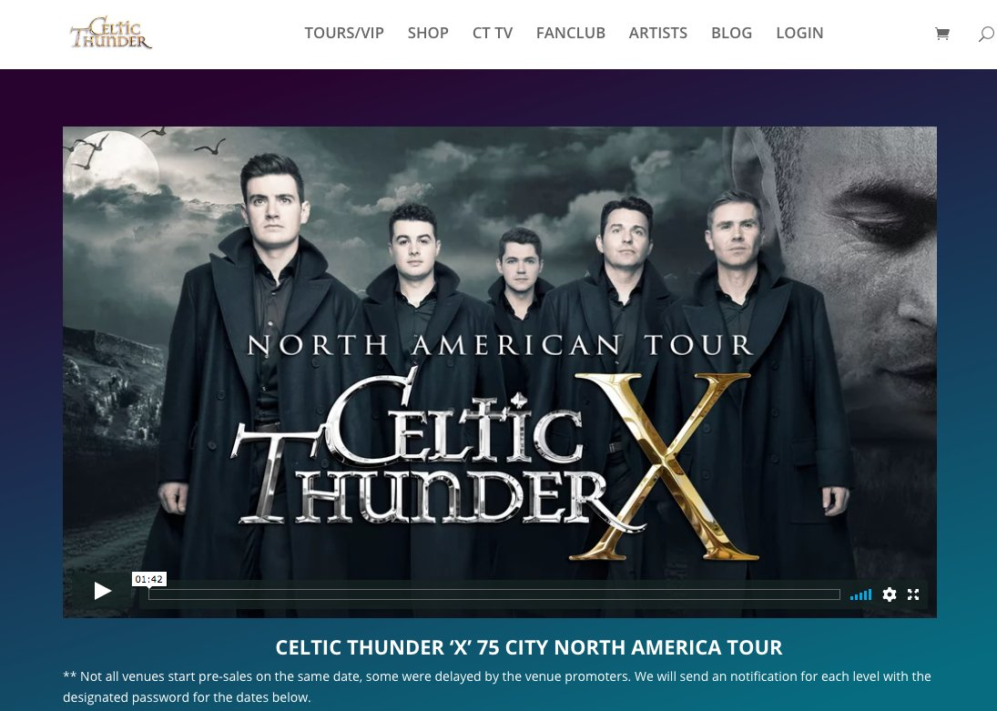 Celtic thunder on twitter vip meet greet passes show tickets 154 pm 25 jun 2018 m4hsunfo