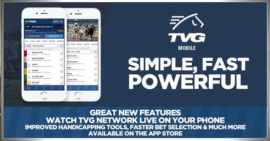 Tvg horse betting mobile device bet on oscar nominations