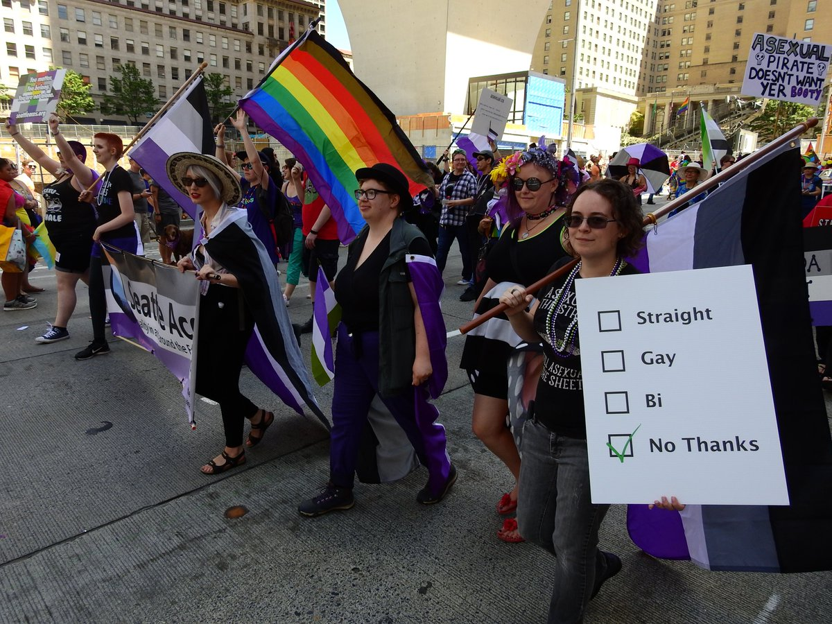 asexual pride parade