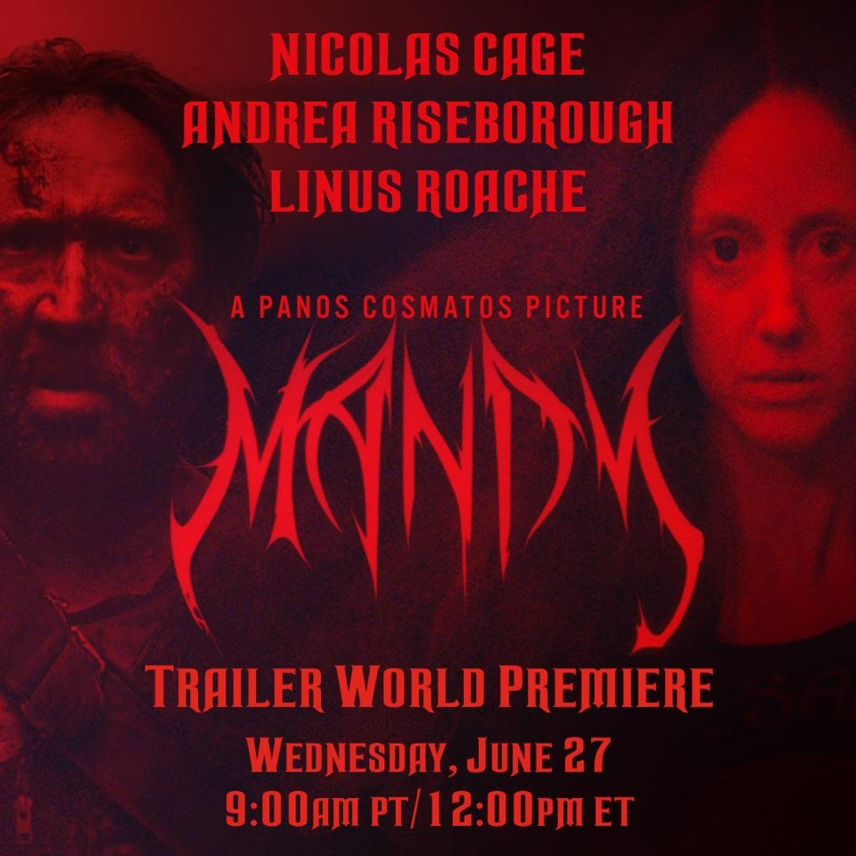 Save the date, buckle up, and bring vodka. #Mandy