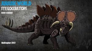 Ok so I've heard rumors that there's not gonna be any hybrids in Jurassic World 3, which to me kinda sucks cause I would've like to have seen the Stegoceratops or Ultimasaurus. #JurassicPark #JurassicWorld #DinosaurHybrid #Stegoceratops #Ultimasaurus