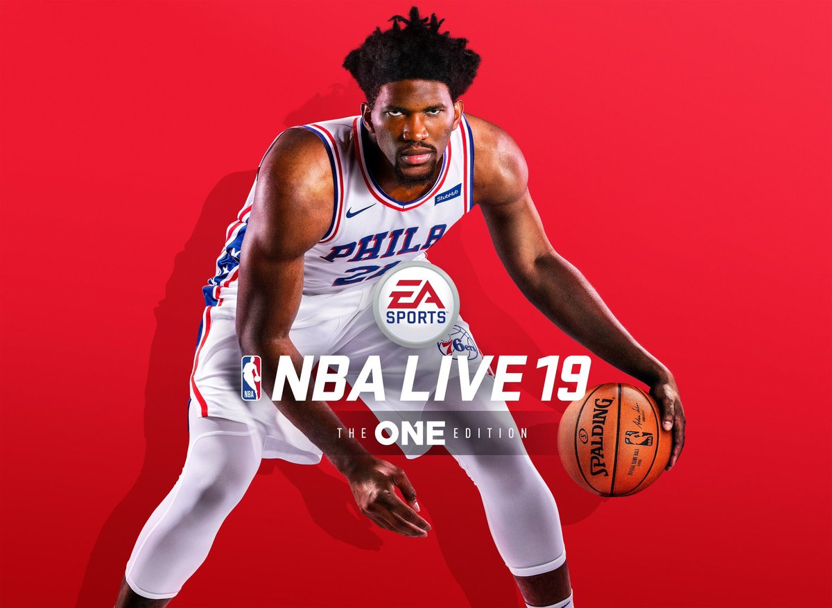 Excited to finally reveal that I'm on the cover of @easportsnba #NbaLive19