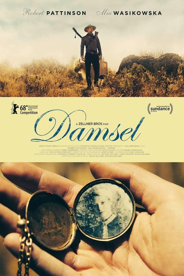 Resultado de imagem para damsel 2018 movie poster