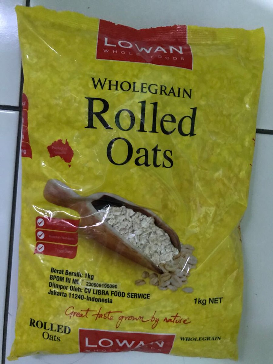 Putri Widi Saraswati On Twitter Aku Suka Instant Oats Nya Quaker Lowan Whole Foods Rolled 1kg 1 Reply 0 Retweets Likes