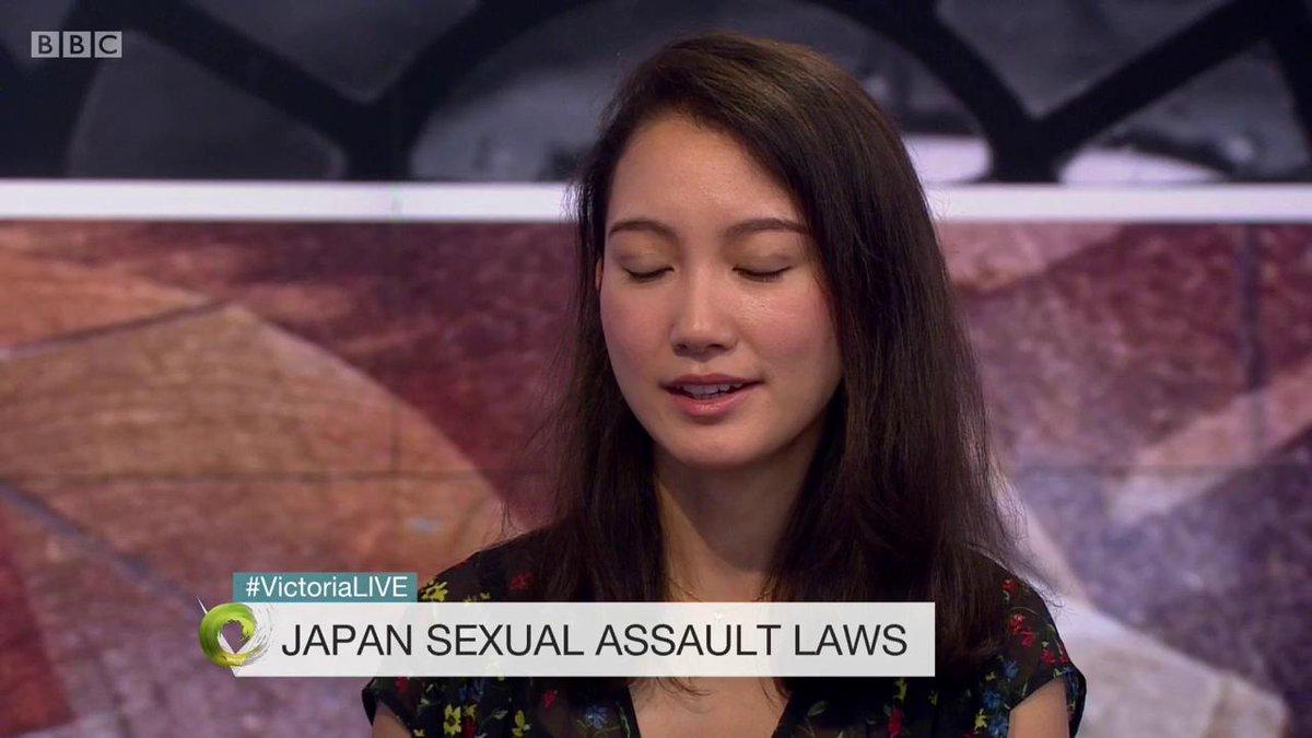 28日の『Japan's Secret Shame』のオンエアに先駆けて、今日伊藤詩織さんは英BBCのモーニングショーに出演したようです。