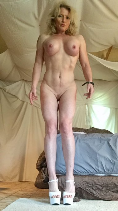 """1 pic. #TittyTuesday #naked #fuckdoll #MandyInTheMorning #milf #nudeART  """"Momma needs to get fucked"""""""