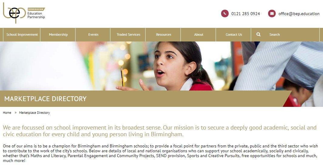 Birmingham Education Partnership on Twitter: