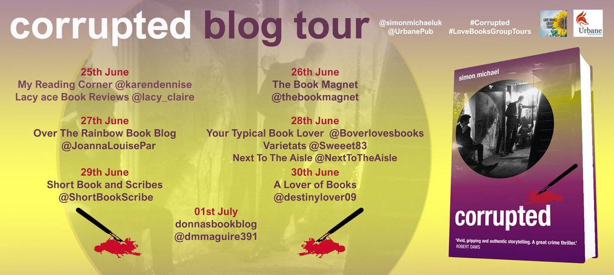 Michelle ryles on twitter so today im on the lovebooksgrouptours michelle ryles on twitter so today im on the lovebooksgrouptours corrupted blogtour and tomorrow ill be at litandphil to meet simonmichaeluk m4hsunfo