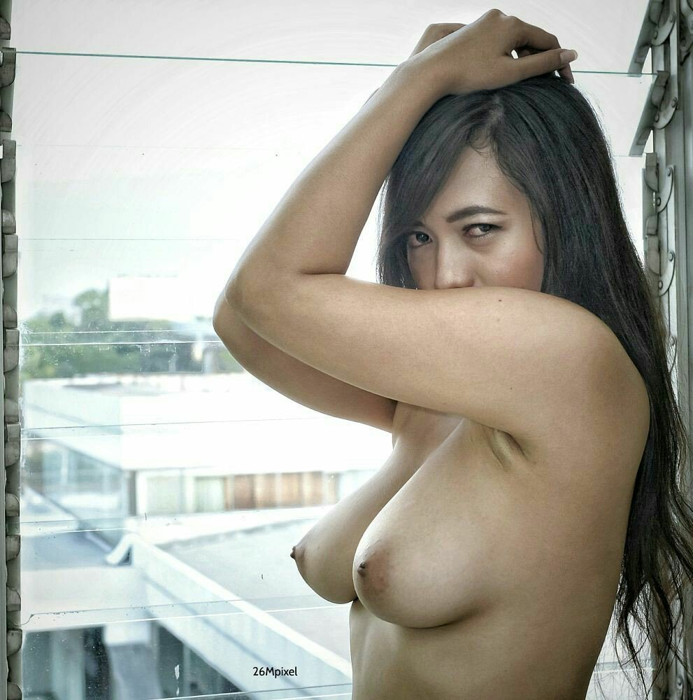 The naked girl from indonesia