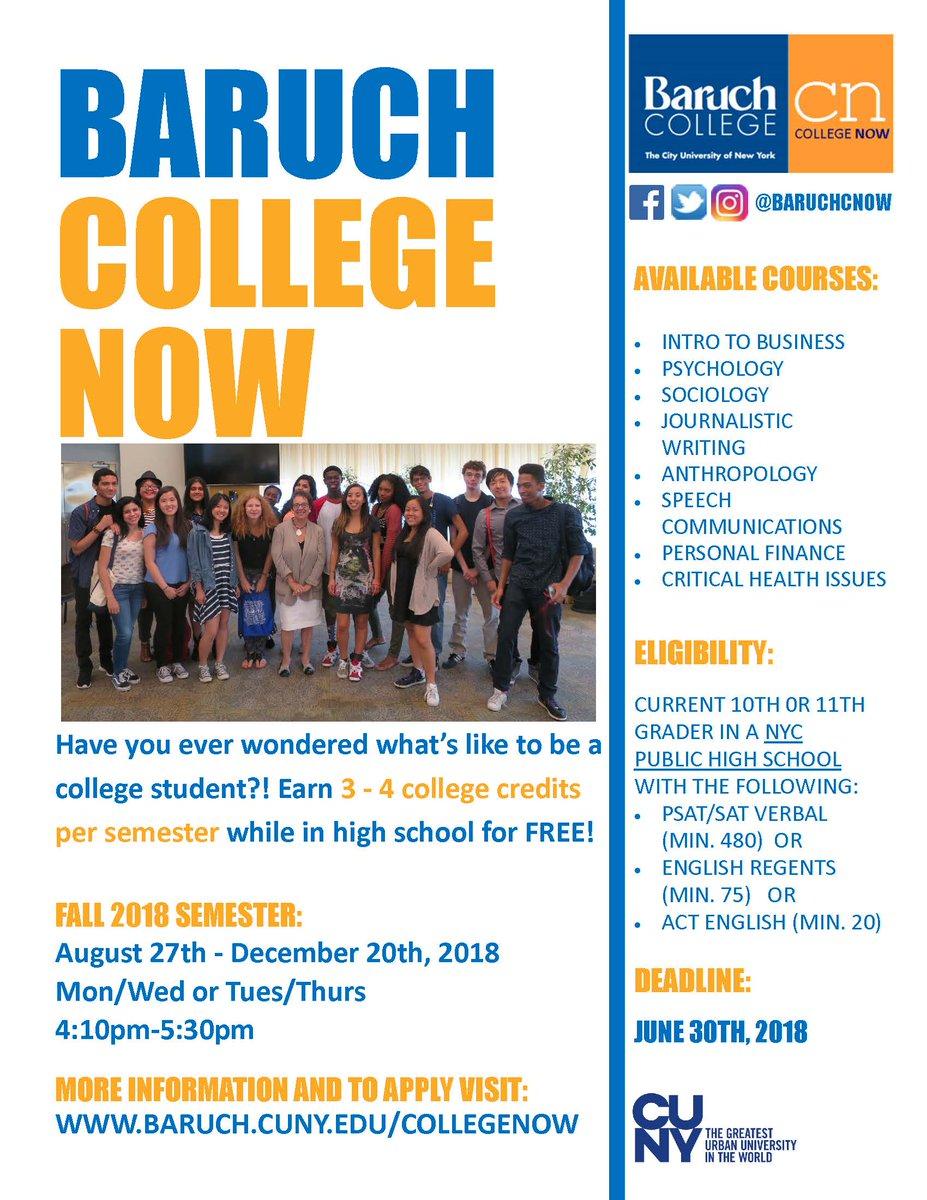 Free college credits